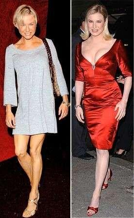 Renée Zellweger: ingrasso di 5 chili per sembrare più bella