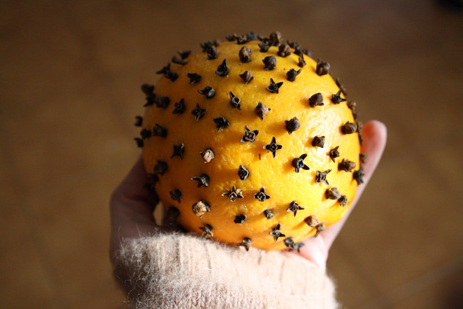 arance chiodi garofano natale