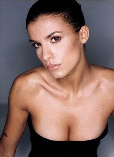 Elisabetta Canalis: meglio i neri, sono più sexy