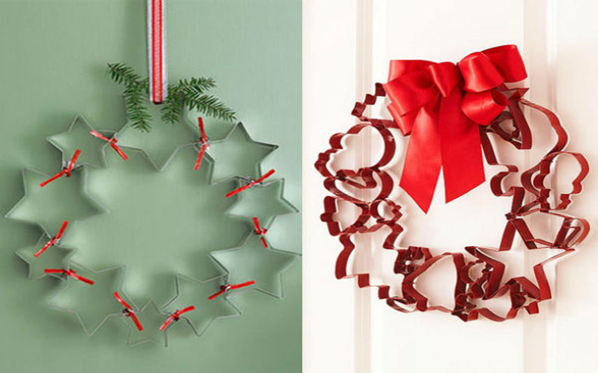 Decorazioni di natale gli addobbi fai da te foto video for Decorazioni natalizie fai da te