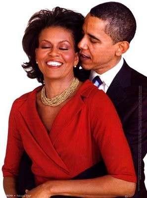 Michelle Obama e l'amore per Barack