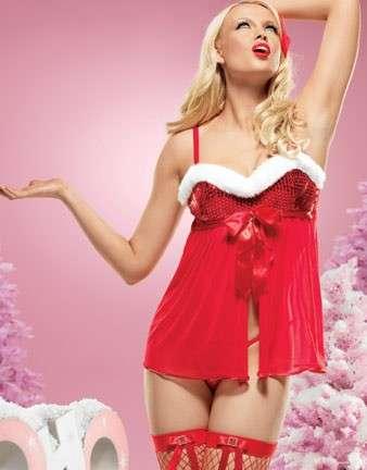 Intimo natalizio sensuale