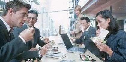 Alimentazione: la dieta in ufficio