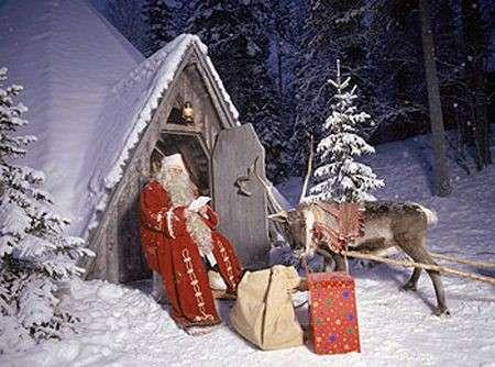 Indirizzo Di Babbo Natale Lapponia.Natale 2008 I Villaggi Di Babbo Natale Pourfemme