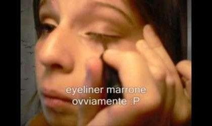 Trucco facile: il make-up sulle tonalità del marrone