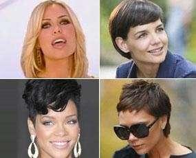 Tagli di capelli delle star