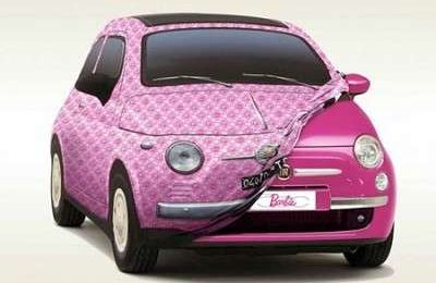 Barbie, Fiat 500 in special edition