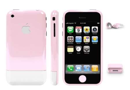 iPhone personalizzato con i colori dell'estate 2009!