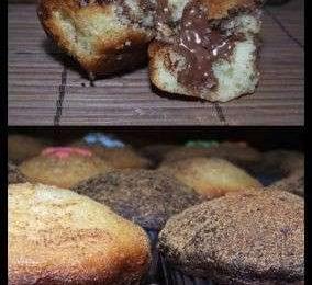 Muffin alla nutella, la ricetta