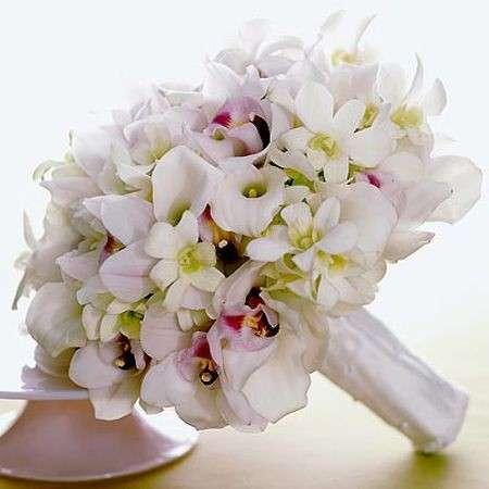 Bouquet Sposa Fiori D Arancio.Bouquet Da Sposa Con I Fiori D Arancio Pourfemme