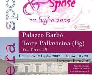Rose&Spose 2009, Fiera per gli Sposi