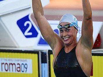 Federica Pellegrini: medaglia d'oro e record del mondo