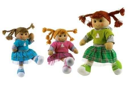 Come fare una bambola di stoffa
