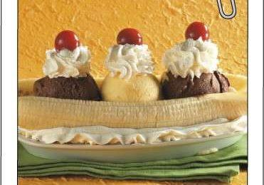 Ricette dolci: banana split al gelato
