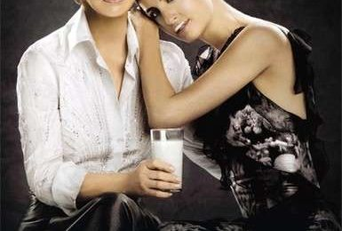 Il latte fa bene… parola di Carolina Herrera