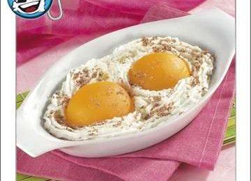 Ricette per bambini: uova di panna