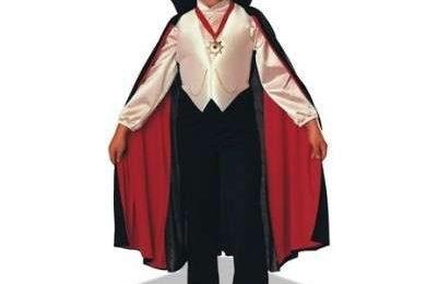 Halloween 2009: come fare il costume di Dracula per bambini