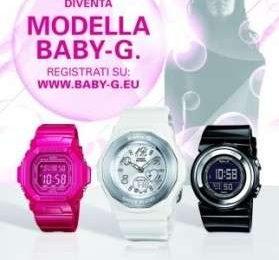 Baby-G: partecipa al concorso e diventa testimonial