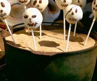 Ricette halloween: teschi e fantasmi di cioccolato bianco