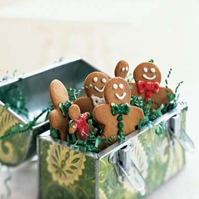 Biscotti Classici Di Natale.Ricette Di Natale Gingerbread O Biscotti Di Pan Di Zenzero Pourfemme