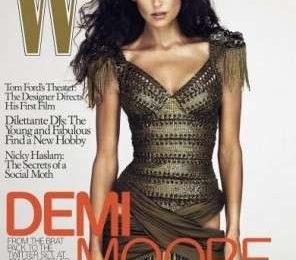 Demi Moore e gli scivoloni di Photoshop