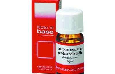 Aromaterapia: olio essenziale di sandalo
