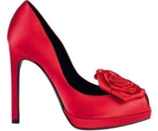 Tendenze moda inverno 2010: scarpe rosse