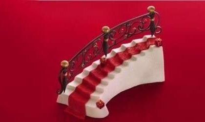 Torta di Natale Chistmas Red Carpet cake