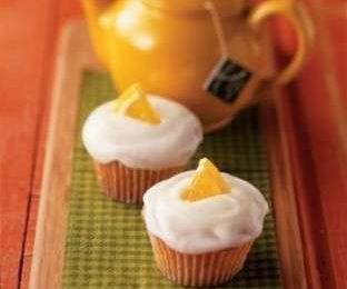Muffin glassati all'arancia
