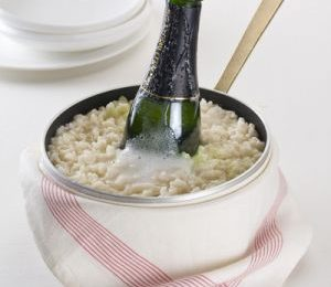 Ricette di Capodanno: risotto allo spumante