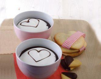Cioccolata calda di San Valentino, un dolce risveglio