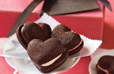 Dolci San Valentino: cuoricini al cioccolato
