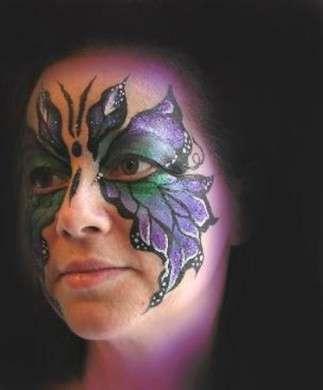 Make up Carnevale 2010: la farfalla