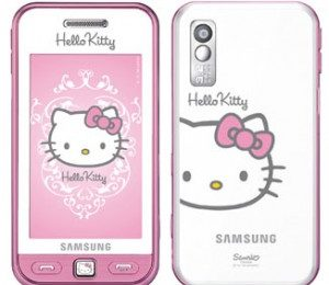 Hello Kitty, due nuovi cellulari by Samsung