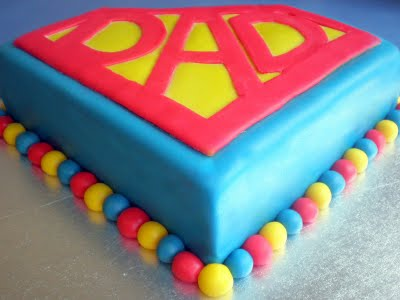 Ricette Festa del Papà: Torta Superman