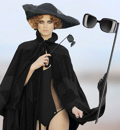 Sex and the city 2, occhiali Chanel Masquerade Ball Sunglasses