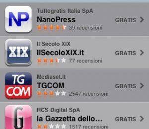 Pour Femme nell'App di Nanopress: primo nella top news gratuite su IPhone