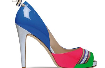 Scarpe Alberto Guardiani per il Salone del Mobile