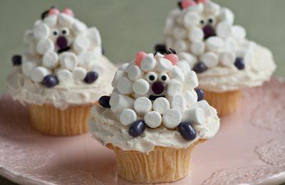 Ricette Pasqua: i muffin a forma di caprette