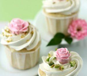 Ricette Festa della Mamma: muffin con le rose