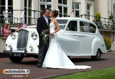 Matrimonio: l'auto d'epoca nei sogni degli sposi