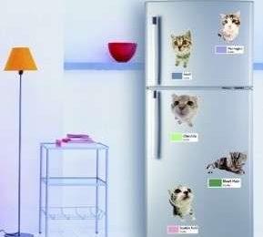 Arredamento: personalizzare il frigo con gli adesivi Wall Stickers iDesign
