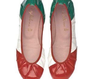 Mondiali 2010: Scarpe Pretty Ballerinas Flag Collection