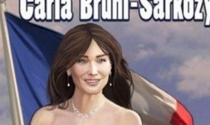 Carla Bruni diventa un fumetto
