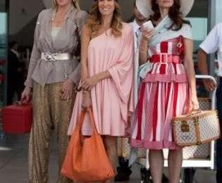 Louis Vuitton set viaggio in Sex & the city 2