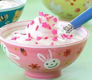 Ricette Bambini: gelato alla panna
