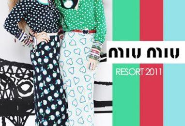 Miu Miu collezione resort 2011