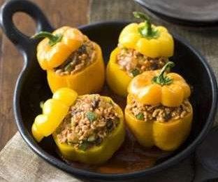 Peperoni ripieni di riso, la ricetta