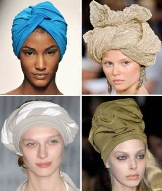 Turbante: la tendenza dell'estate 2010