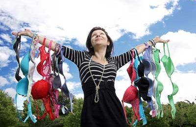 Bra-recycling: i reggiseni riciclati contro il tumore al seno